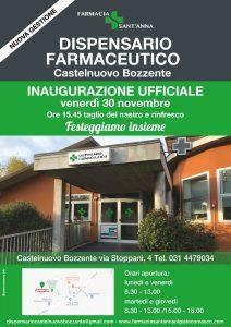 Inaugurazione dispensario farmaceutico di castelnuovo bozzente