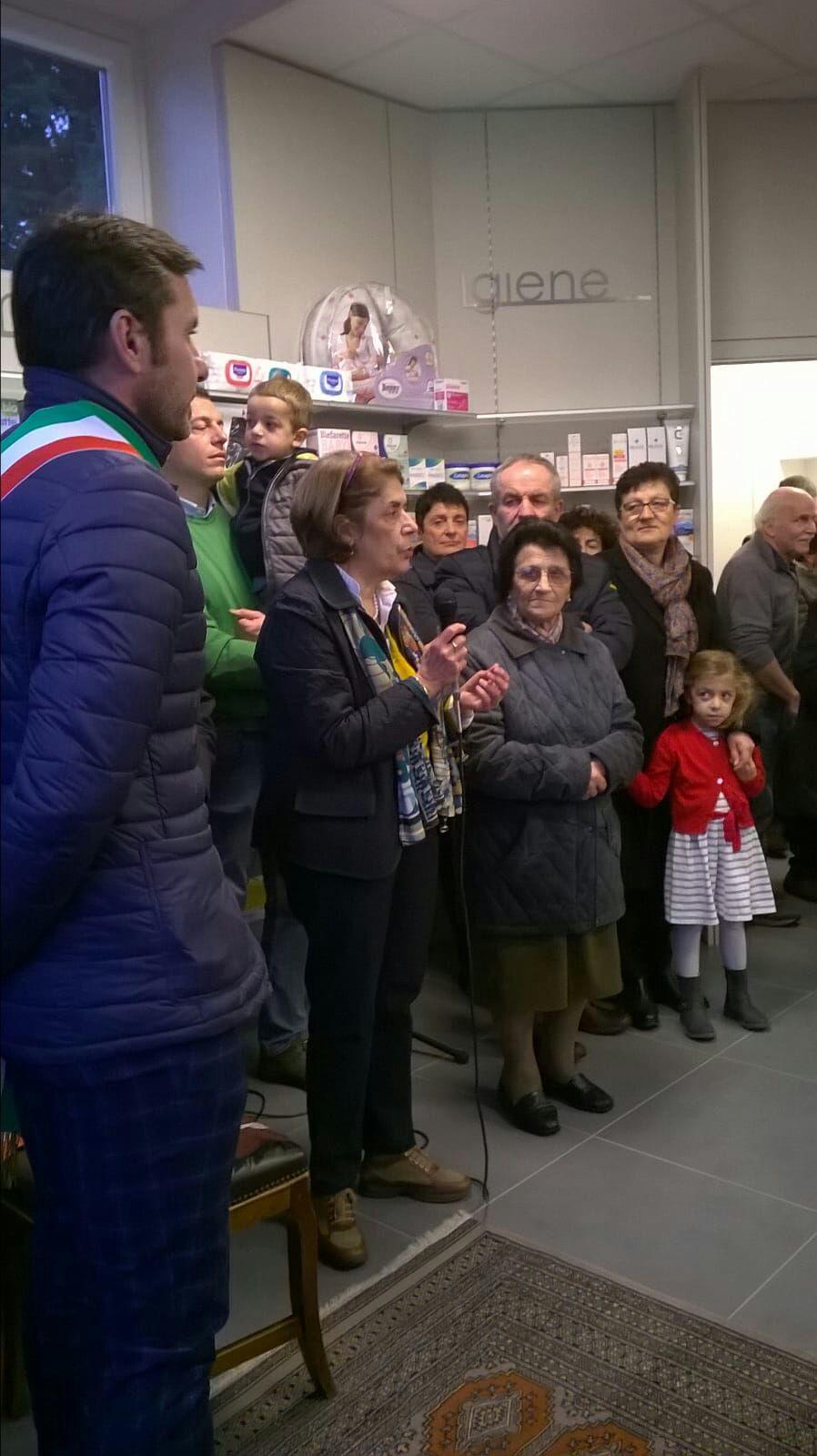 inaugurazione farmacia santanna olgiate comasco