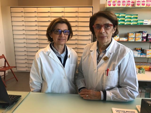 Dottoressa Anna Brancaleoni e Viviane De Rosa